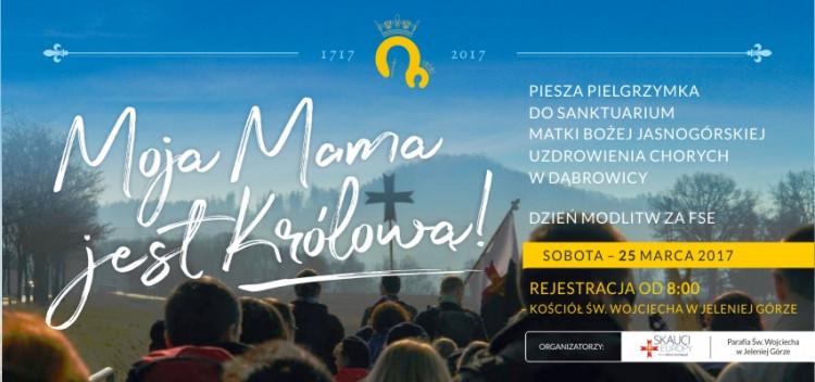 Relacja z pielgrzymki do Dąbrowicy - 29.03.2017