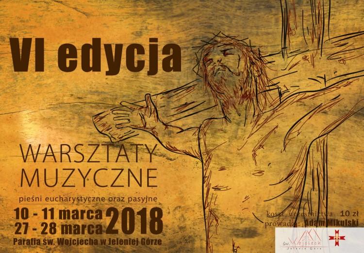 Warsztaty muzyczne - VI EDYCJA! (zapisy) - 27.02.2018