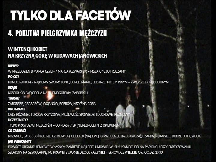 TYLKO DLAFACETÓW - 07.03.2020