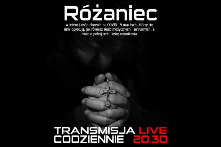 RÓŻANIEC - zapraszamy do wspólnej modlitwy!! - 21.03.2020