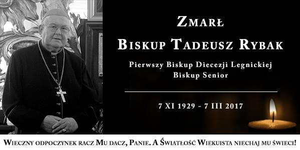 Odszedł pierwszy Biskup Diecezji Legnickiej - 07.03.2017