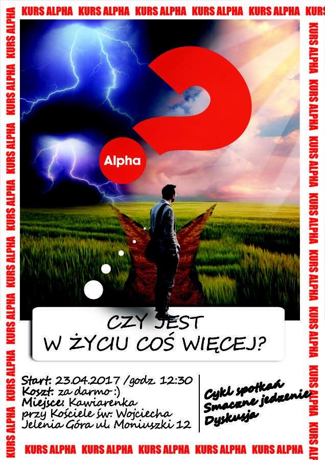 KURS ALPHA w naszej Parafii! - 15.03.2017