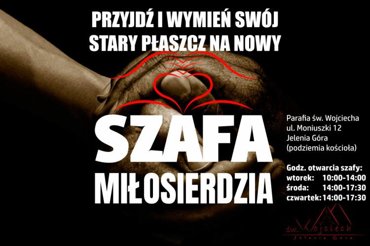 II edycja SZAFY MIŁOSIERDZIA - 21.10.2018
